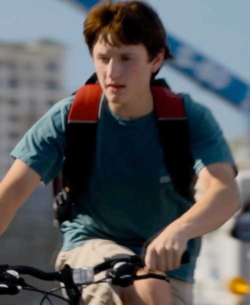 Nathan Gamble with Tucker + Tate Cargo Shorts in Dolphin Tale 2
