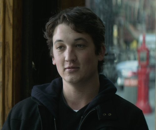 Miles Teller with Nordstrom Cashmere V-Neck Sweater in That Awkward Moment
