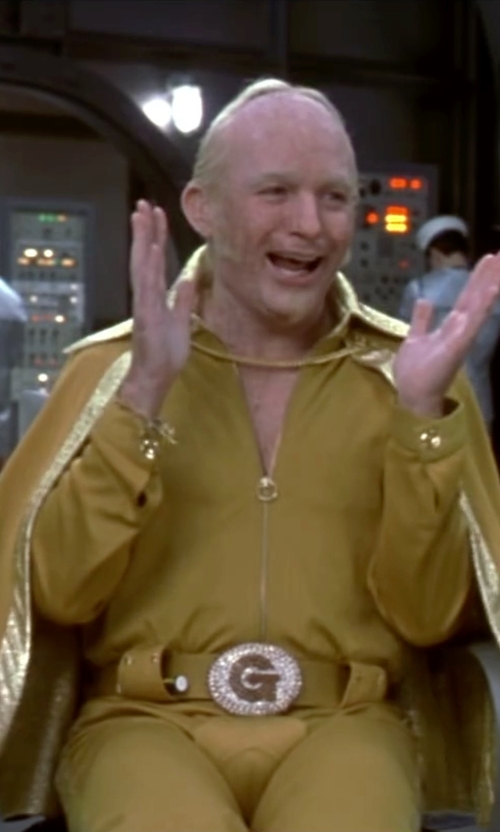 Mike Myers with Bill Hargate Costumes Custom Made One Pice Jumpsuit with Cape in Austin Powers in Goldmember