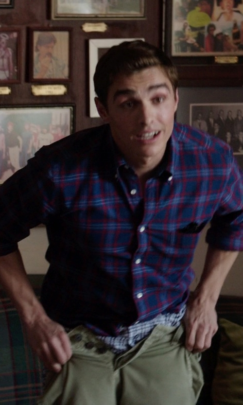 Dave Franco with Naked and Famous Denim	 WeirdGuy Selvedge Chino Pants in Neighbors