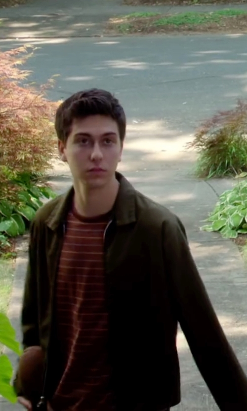 Nat Wolff with Polo Ralph Lauren Harrington Jacket in Ashby