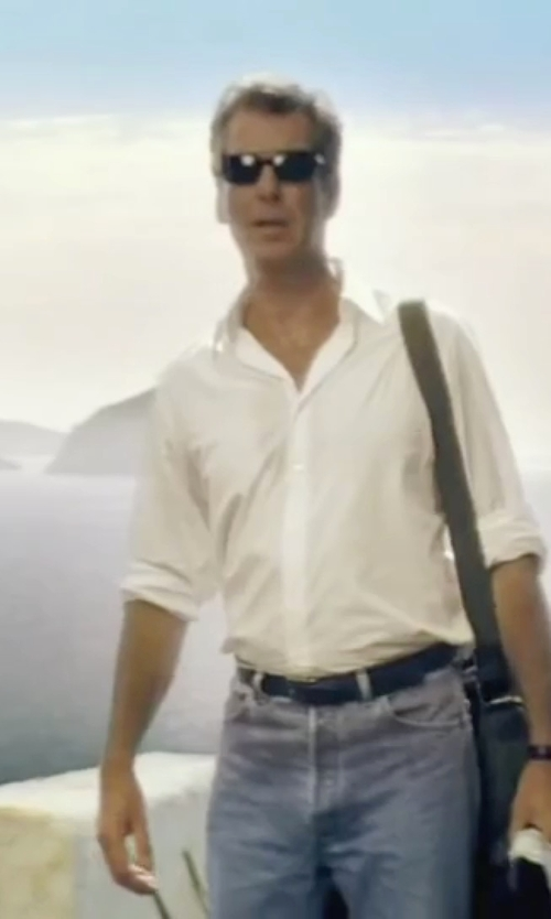 Pierce Brosnan with Persol Tortoise Sunglasses in Mamma Mia!