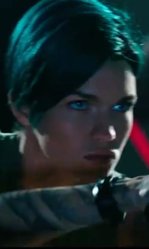 Ruby Rose with Armani Exchange Chronograph Silicone Strap Watch in xXx: Return of Xander Cage