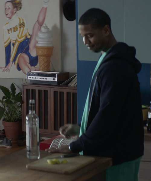 Michael B. Jordan with Ketel One Vodka in That Awkward Moment