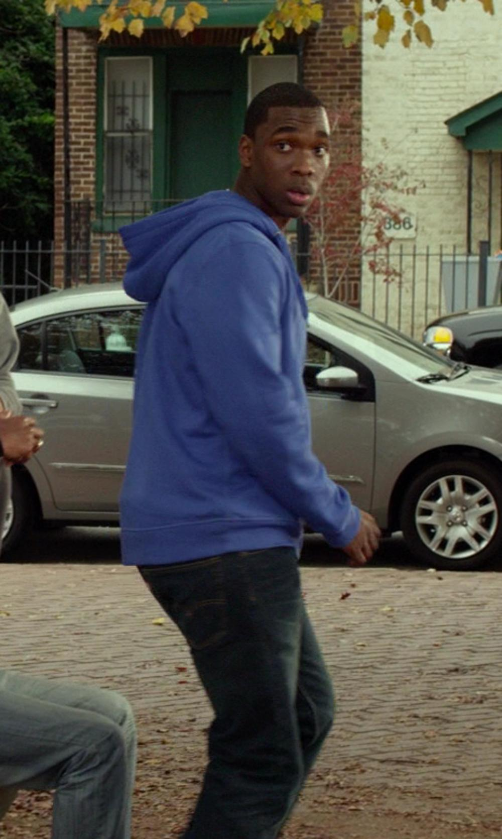 Jay Pharoah with Levi's '511' Slim Fit Jeans in Ride Along