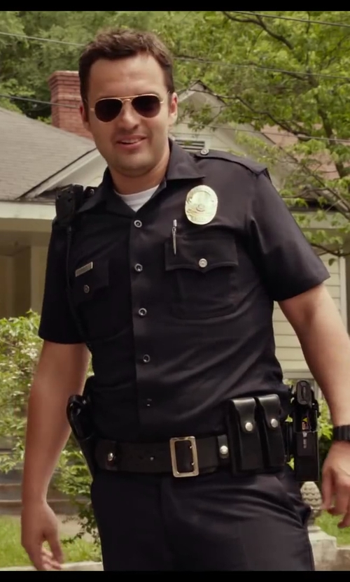 Jake Johnson with Halloween Costumes Realistic Police Costume in Let's Be Cops