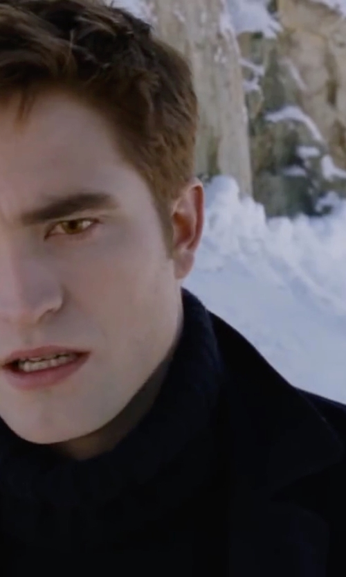 Robert Pattinson with Sartoria Semolini Single Breasted Blazer in The Twilight Saga: Breaking Dawn - Part 2