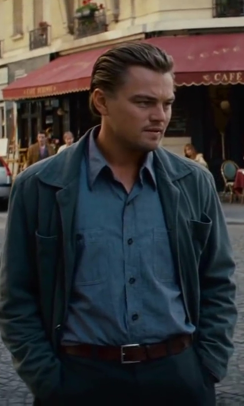 Leonardo DiCaprio with Jeffrey Kurland (Costume Designer) Custom Made Trench Coat in Inception