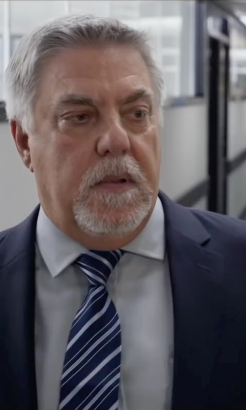 Bruce McGill with Burberry London Slim-Fit Wool Suit in Ride Along 2
