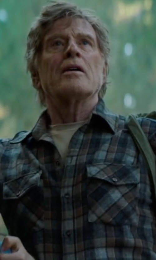 Robert Redford with INC International Concepts Guillaume Classic-Fit Shirt in Pete's Dragon