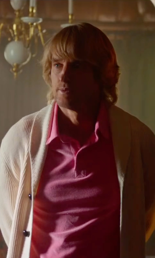 Owen Wilson with Darwin Knitted Cardigan in Bastards