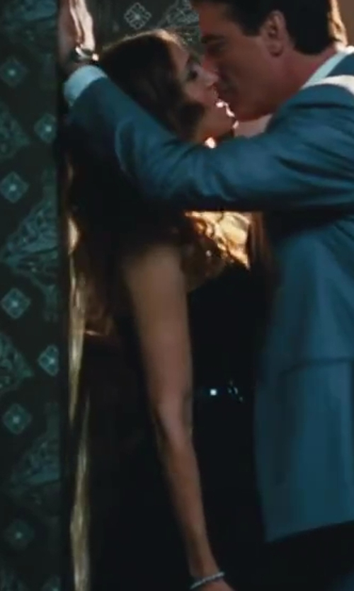 Sarah Jessica Parker with Dolce And Gabbana Tube Flare Dress in Sex and the City 2