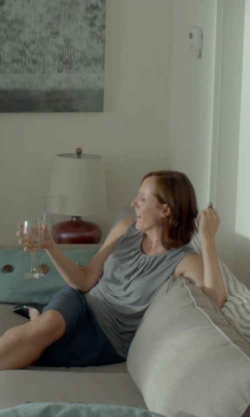 Molly Shannon with Verona Home Walser Sofa in Me and Earl and the Dying Girl