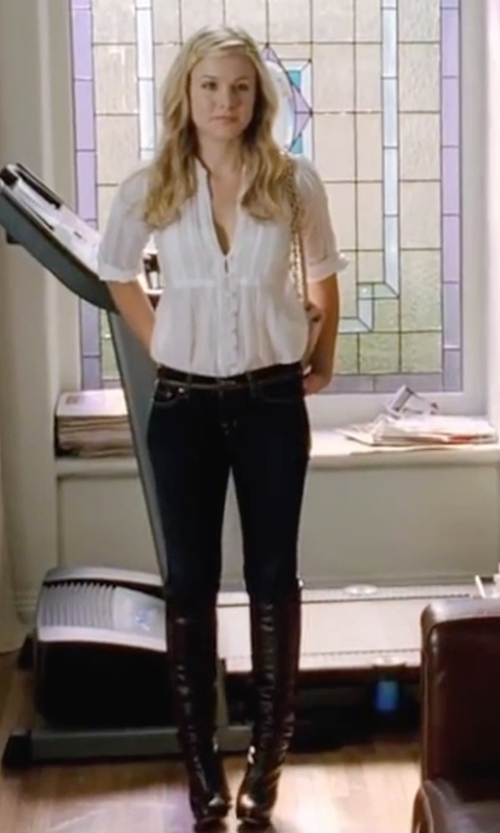 Kristen Bell with Circus By Sam Edelman Howell Over-The-Knee Boots in Forgetting Sarah Marshall