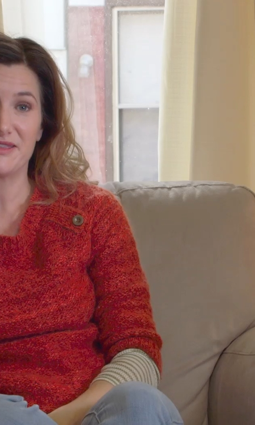 Kathryn Hahn with Danbury Upholstered Chair in The Visit