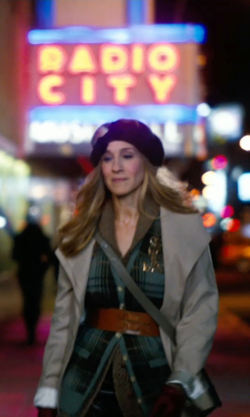 Sarah Jessica Parker with Hat Attack Wool Beret in New Year's Eve