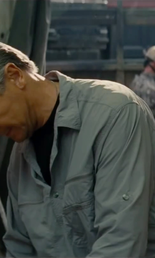 Liam Neeson with Carhartt Flame Resistant Traditional Twill Coverall in The A-Team