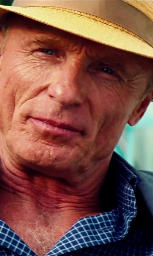 Ed Harris with Panama Hat Cuenca (3-4) + Panama Standard Hat Band in Pain & Gain