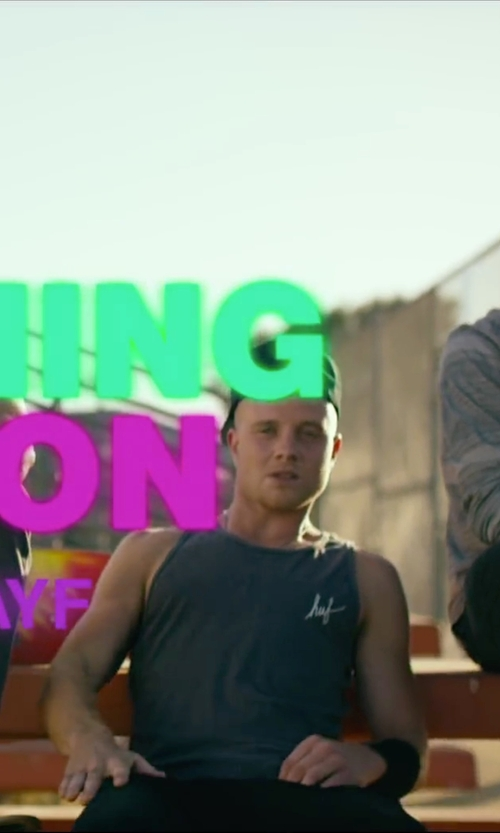 Jonny Weston with Thom Krom Drop Crotch Trousers in We Are Your Friends