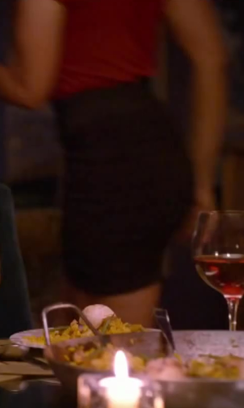 Regina Hall with Gabriella Rocha Kimberly High Waisted Skirt in About Last Night
