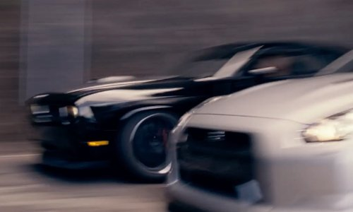 Vin Diesel with Dodge 2011 Dodge Challenger SRT8 Coupe in Fast & Furious 6