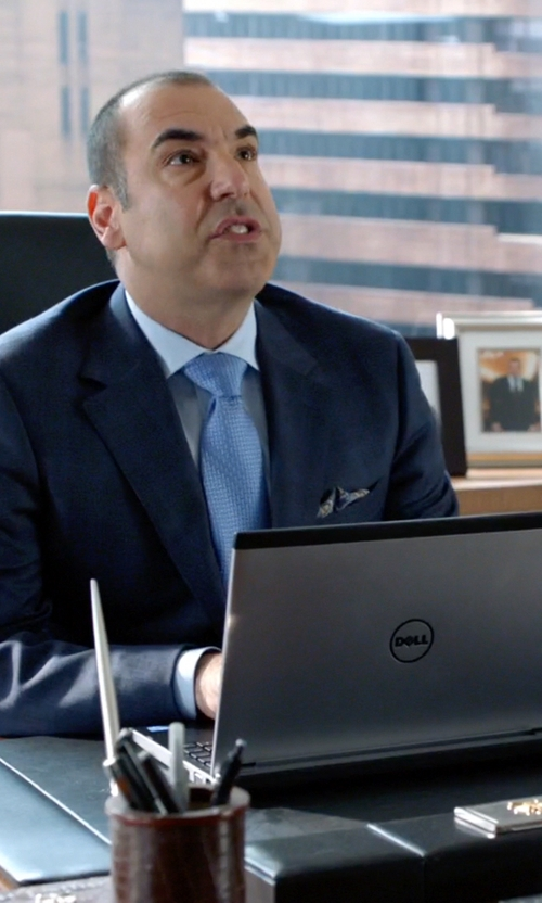 Rick Hoffman with Dell Inspiron Laptop in Suits