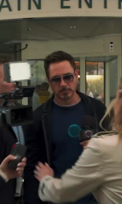 Unknown Actor with Sony Sony HVRZ1U 3CCD 1080i HDV Camcorder in Iron Man 3