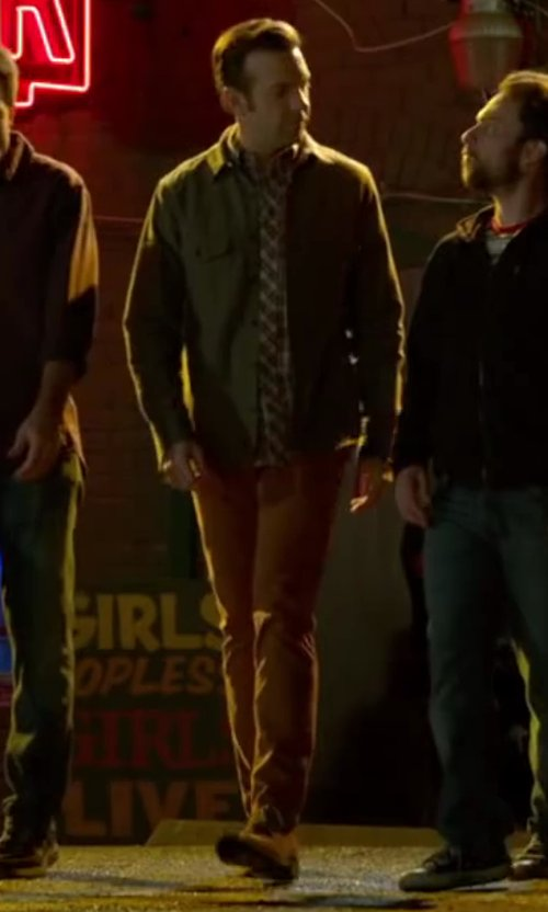 Jason Sudeikis with Bespoken Summer Derby Shoes in Horrible Bosses 2