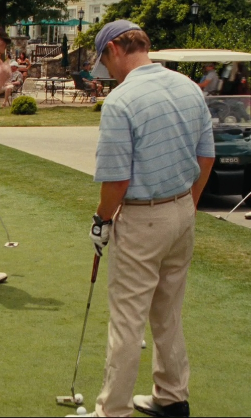 Owen Wilson with Titleist 2013 Players Flex Glove Fit to Left Hand Cadet Large in Hall Pass