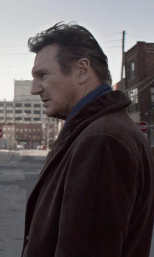 Liam Neeson with Alain Blazer in A Walk Among The Tombstones