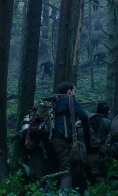 Kodi Smit-McPhee with MALEROADS Outdoor climbing bag shoulder bag in Dawn of the Planet of the Apes