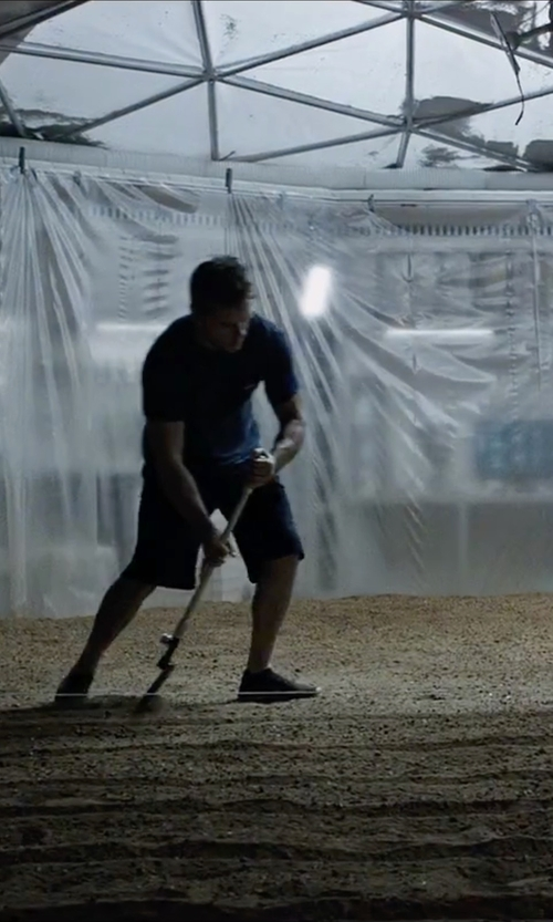 Matt Damon with Barneys New York Curtis Shorts in The Martian