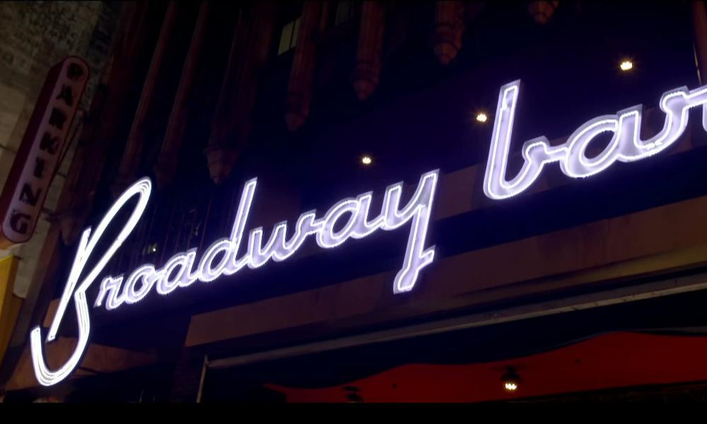 Broadway Bar Los Angeles, CA in About Last Night