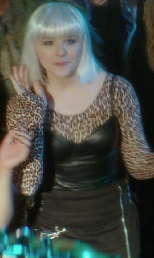 Chloë Grace Moretz with Hell Bunny Restricted Mini Skirt in If I Stay