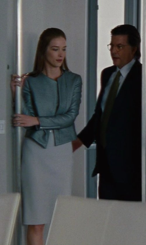 Chelsea Turnbo with Armani Collezioni High Waisted Skirt in The Other Woman