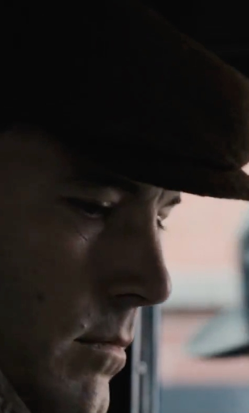 Ben Affleck with Sean John Textured Ivy Hat in Live By Night