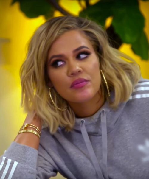 Khloe Kardashian with Cartier Juste Un Clou Nail Bracelet in Keeping Up With The Kardashians
