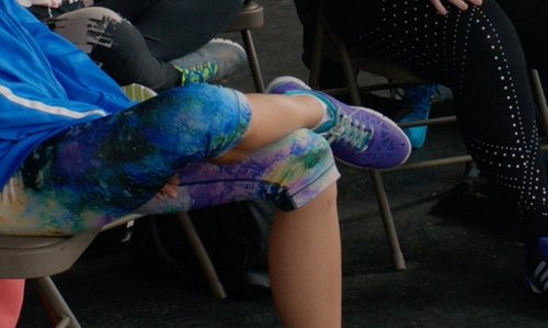 Alexis Knapp with Nike Free TR Fit 3 Shoes in Pitch Perfect 2