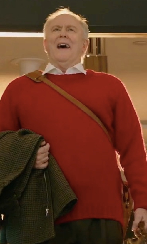 John Lithgow with MSGM Knitted Sweater in Daddy's Home 2