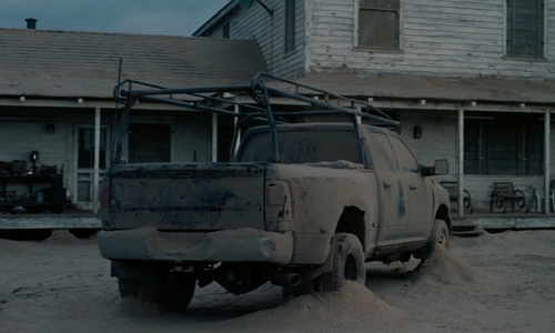 Matthew McConaughey with RAM 3500 Pickup Truck in Interstellar