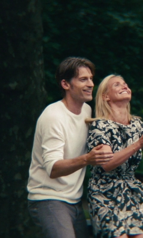 Nikolaj Coster-Waldau with Stephan Schneider Crew Neck Sweater in The Other Woman