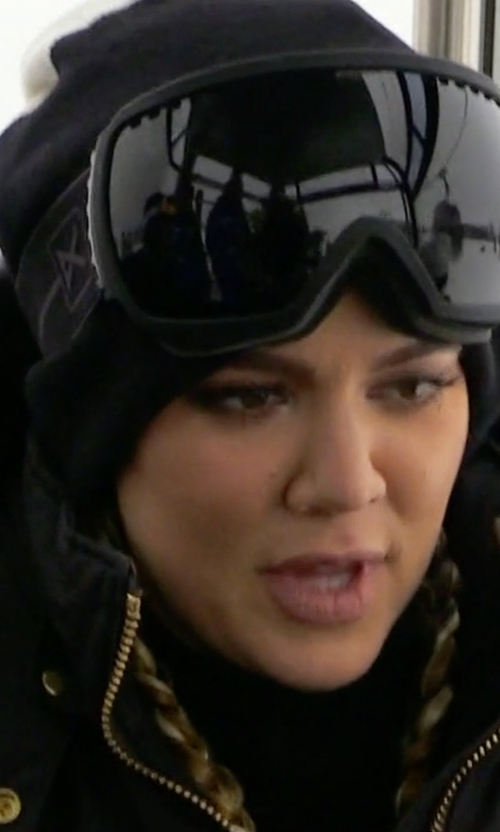 Khloe Kardashian with Anon Optics Comrade Snow Goggle in Keeping Up With The Kardashians