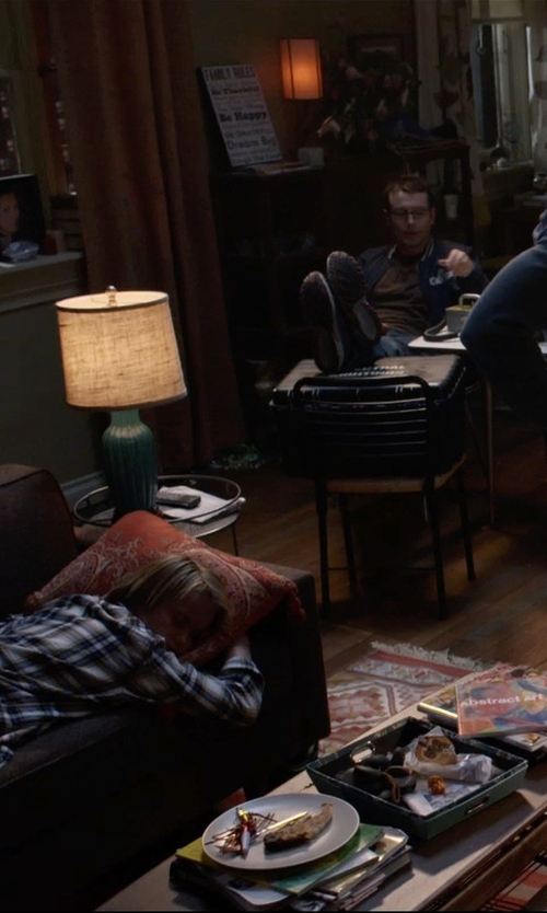 Dermot Mulroney with Kyle Schuneman Harrison Mini Apartment Sofa in Insidious: Chapter 3