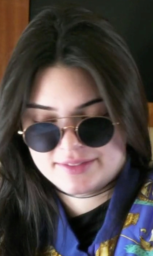 Kendall Jenner with Ahlem Eyewear Bastille Sunglasses in Keeping Up With The Kardashians