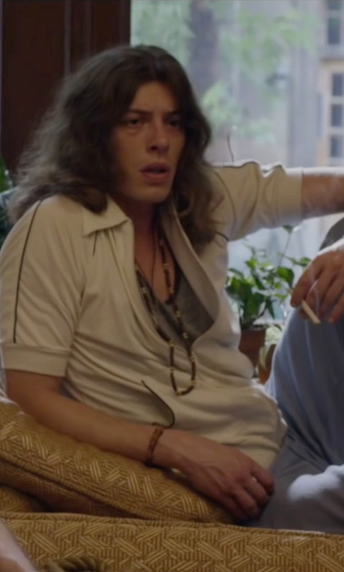 Benedict Samuel with John Hardy Sterling Silver Necklace in The Walk