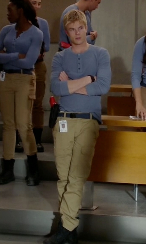 Graham Rogers with Carhartt Men's Flame Resistant Cargo Pants in Quantico