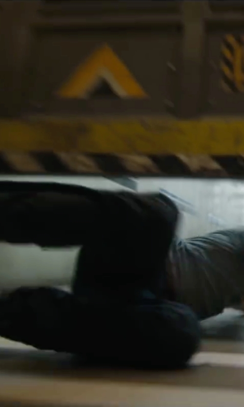 Dylan O'Brien with Palladium Men's Baggy Leather Gusset Boots in Maze Runner: The Scorch Trials