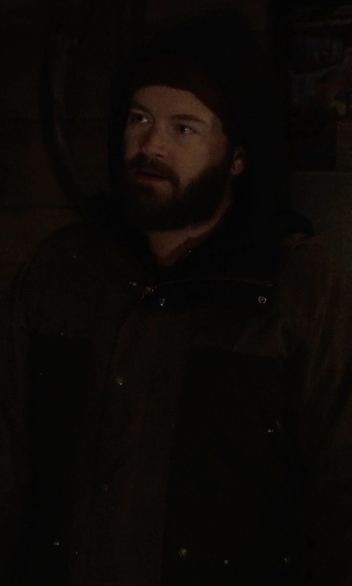 Danny Masterson with Burton Sherman Jacket in The Ranch