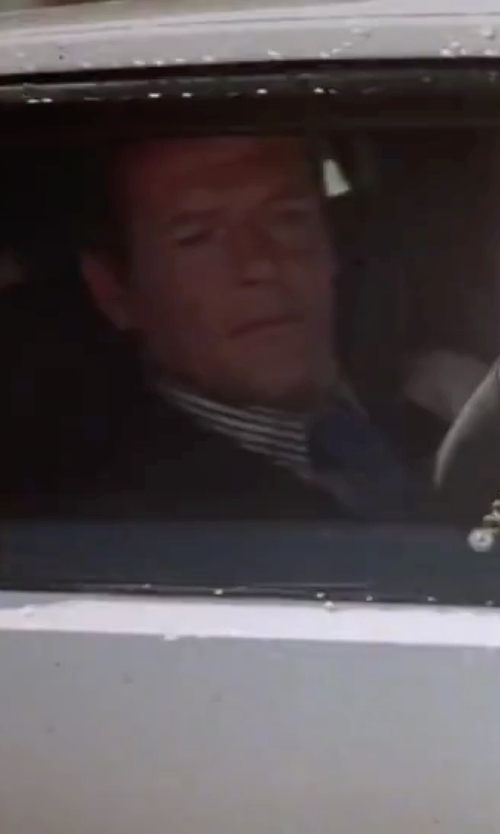 Roger Moore with Michael Kors Solid Tie in The Spy Who Loved Me