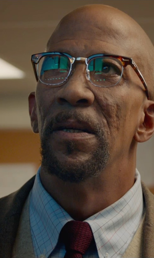 Reg E. Cathey with Kroon Herringbone Wool Blend Sport Coat in Fantastic Four